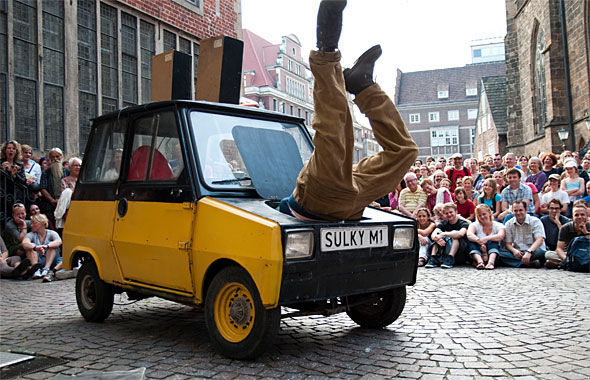 Spoffin on tour naar Soest, Apeldoorn, Leusden en Harderwijk