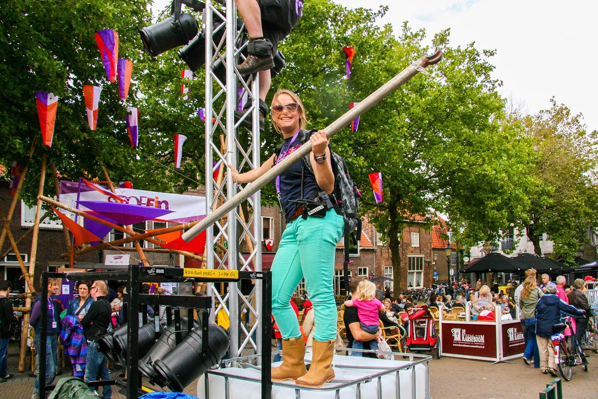 'Vrijwilligers in culturele sector zijn helden'