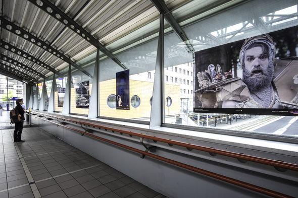 Fototentoonstelling vijf jaar Spoffin