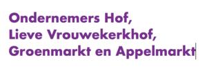 Ondernemers Lieve Vrouwekerkhof, Hof, Groenmarkt en Appelmarkt